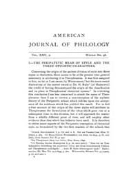 The American Journal of Philology : 1904... Volume Vol. 25 by Larmour, David, H. J.
