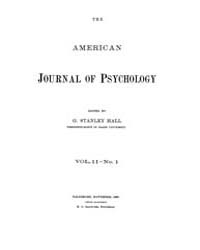 The American Journal of Psychology : 188... Volume Vol. 2 by W, Robert