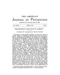 The American Journal of Psychology : 191... Volume Vol. 22 by W, Robert