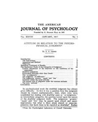 The American Journal of Psychology : 191... Volume Vol. 28 by W, Robert