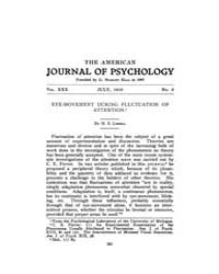 The American Journal of Psychology : 191... Volume Vol. 30 by W, Robert