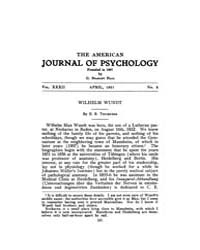 The American Journal of Psychology : 192... Volume Vol. 32 by W, Robert