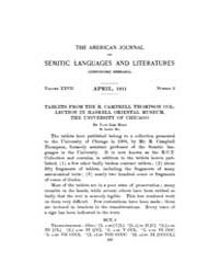 The American Journal of Semitic Language... Volume Vol. 27 by Rainey, William