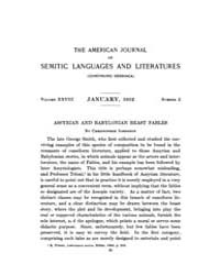 The American Journal of Semitic Language... Volume Vol. 28 by Rainey, William