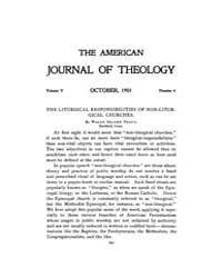 The American Journal of Theology : 1901 ... Volume Vol. 5 by Raposa, Michael, L.