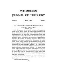 The American Journal of Theology : 1902 ... Volume Vol. 6 by Raposa, Michael, L.