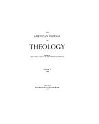 The American Journal of Theology : 1906 ... Volume Vol. 10 by Raposa, Michael, L.