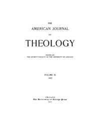 The American Journal of Theology : 1907 ... Volume Vol. 11 by Raposa, Michael, L.