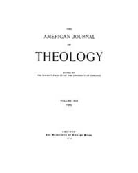 The American Journal of Theology : 1909 ... Volume Vol. 13 by Raposa, Michael, L.