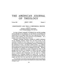 The American Journal of Theology : 1915 ... Volume Vol. 19 by Raposa, Michael, L.