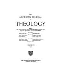 The American Journal of Theology : 1917 ... Volume Vol. 21 by Raposa, Michael, L.