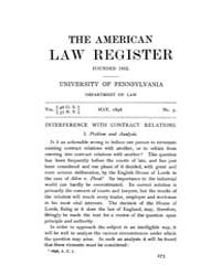 The American Law Register (1898-1907) : ... Volume Vol. 46 by