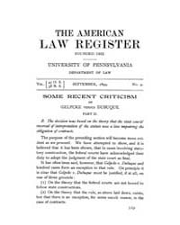 The American Law Register (1898-1907) : ... Volume Vol. 47 by