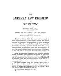 The American Law Register and Review : 1... Volume Vol. 41 by