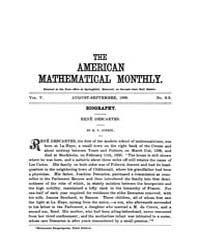 The American Mathematical Monthly : 1898... Volume Vol. 5 by Chapman,scott