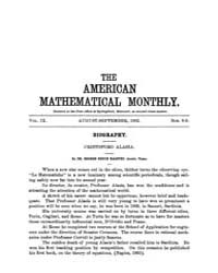 The American Mathematical Monthly : 1902... Volume Vol. 9 by Chapman,scott