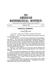 The American Mathematical Monthly : 1904... Volume Vol. 11 by Chapman,scott