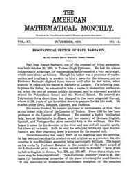 The American Mathematical Monthly : 1908... Volume Vol. 15 by Chapman,scott