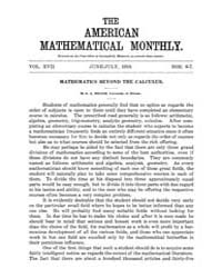 The American Mathematical Monthly : 1910... Volume Vol. 17 by Chapman, scott