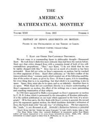 The American Mathematical Monthly : 1915... Volume Vol. 22 by Chapman,scott