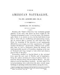 The American Naturalist : 1869 Vol. 3 No... Volume Vol. 3 by McPeek, Mark, A.