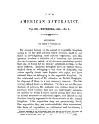 The American Naturalist : 1869 Vol. 3 No... Volume Vol. 3 by McPeek, Mark, A.