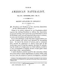 The American Naturalist : 1870 Vol. 4 No... Volume Vol. 4 by McPeek, Mark, A.