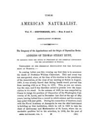 The American Naturalist : 1871 Vol. 5 No... Volume Vol. 5 by McPeek, Mark, A.