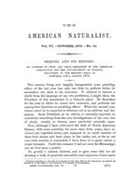 The American Naturalist : 1872 Vol. 6 No... Volume Vol. 6 by McPeek, Mark, A.