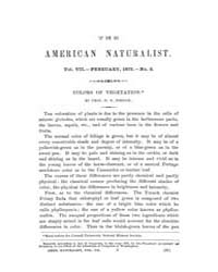 The American Naturalist : 1873 Vol. 7 No... Volume Vol. 7 by McPeek, Mark, A.