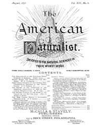 The American Naturalist : 1878 Vol. 12 N... Volume Vol. 12 by McPeek, Mark, A.