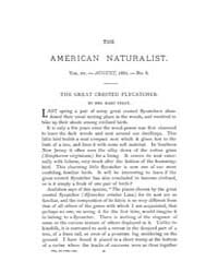 The American Naturalist : 1881 Vol. 15 N... Volume Vol. 15 by McPeek, Mark, A.