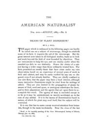 The American Naturalist : 1883 Vol. 17 N... Volume Vol. 17 by McPeek, Mark, A.