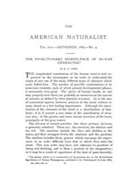 The American Naturalist : 1883 Vol. 17 N... Volume Vol. 17 by McPeek, Mark, A.