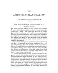 The American Naturalist : 1885 Vol. 19 N... Volume Vol. 19 by McPeek, Mark, A.