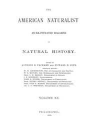 The American Naturalist : 1886 Vol. 20 N... Volume Vol. 20 by McPeek, Mark, A.
