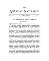 The American Naturalist : 1887 Vol. 21 N... Volume Vol. 21 by McPeek, Mark, A.