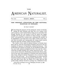 The American Naturalist : 1887 Vol. 21 N... Volume Vol. 21 by McPeek, Mark, A.