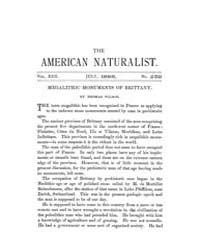The American Naturalist : 1888 Vol. 22 N... Volume Vol. 22 by McPeek, Mark, A.