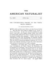 The American Naturalist : 1890 Vol. 24 N... Volume Vol. 24 by McPeek, Mark, A.