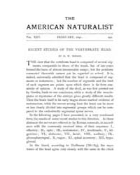 The American Naturalist : 1891 Vol. 25 N... Volume Vol. 25 by McPeek, Mark, A.