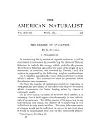 The American Naturalist : 1894 Vol. 28 N... Volume Vol. 28 by McPeek, Mark, A.