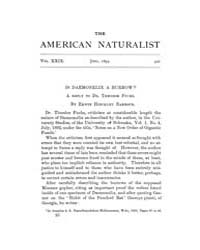 The American Naturalist : 1895 Vol. 29 N... Volume Vol. 29 by McPeek, Mark, A.