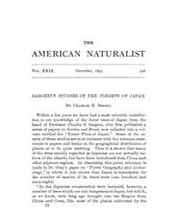 The American Naturalist : 1895 Vol. 29 N... Volume Vol. 29 by McPeek, Mark, A.