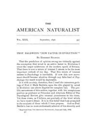 The American Naturalist : 1896 Vol. 30 N... Volume Vol. 30 by McPeek, Mark, A.