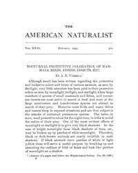 The American Naturalist : 1897 Vol. 31 N... Volume Vol. 31 by McPeek, Mark, A.