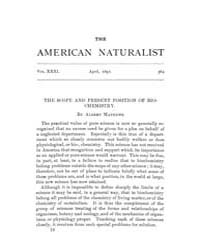 The American Naturalist : 1897 Vol. 31 N... Volume Vol. 31 by McPeek, Mark, A.