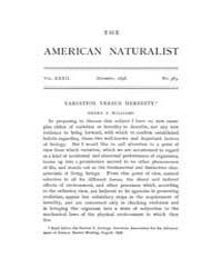 The American Naturalist : 1898 Vol. 32 N... Volume Vol. 32 by McPeek, Mark, A.