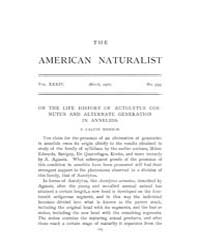 The American Naturalist : 1900 Vol. 34 N... Volume Vol. 34 by McPeek, Mark, A.
