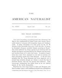 The American Naturalist : 1901 Vol. 35 N... Volume Vol. 35 by McPeek, Mark, A.